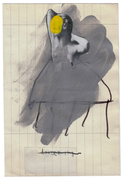 mixed media collage on paper – 12×21 cm. 2013