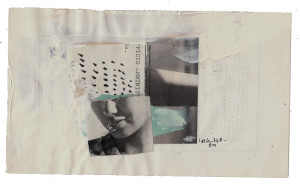 mixed media collage on paper – 20×12 cm. 2014