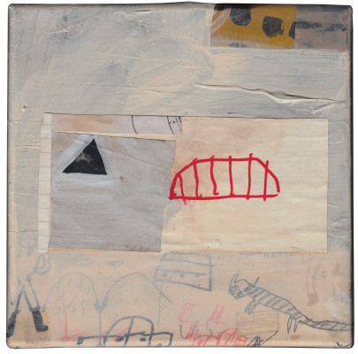 cm. 20×20 – mixed media on canvas 2013