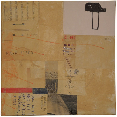 20x20 - mixed media on canvas 2012