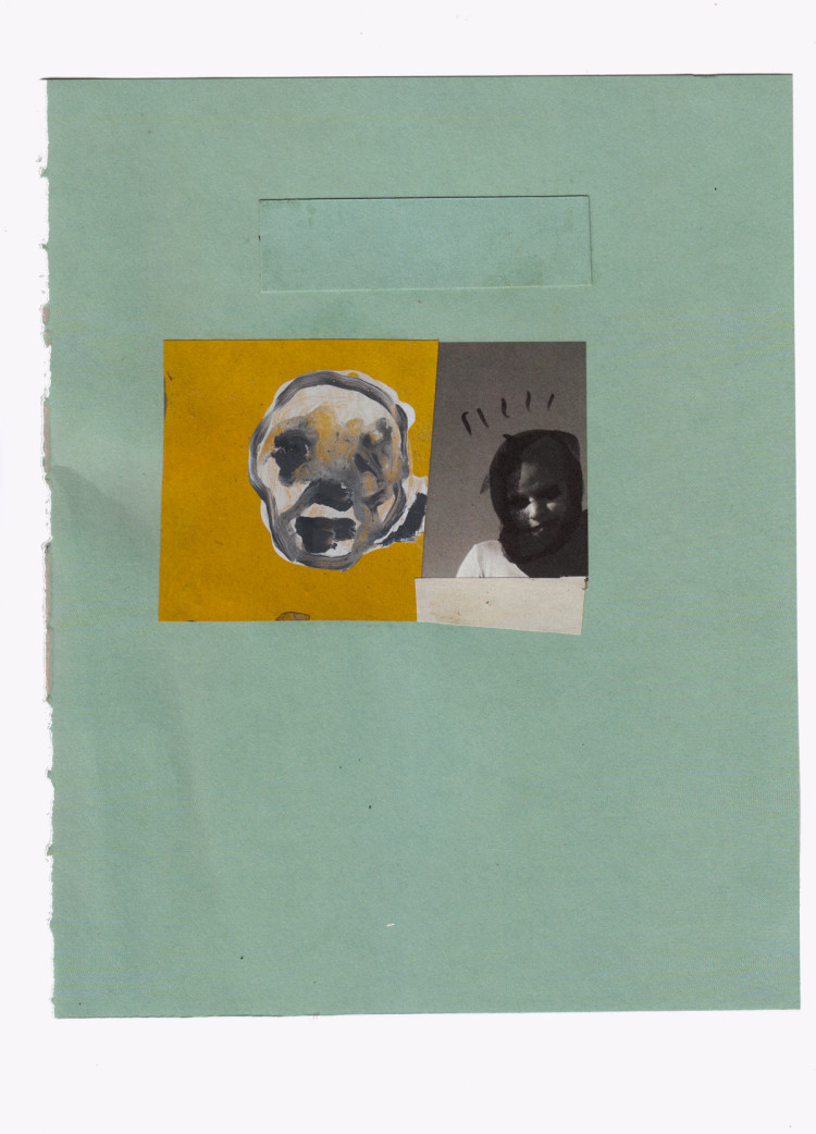 mixed media collage on paper – 19×24 cm. 2013
