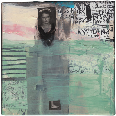cm. 20x20 - mixed media on canvas