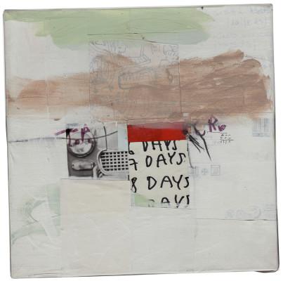 cm. 20×20 – mixed media on canvas 2012