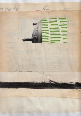 mixed media collage on paper – cm.22x28  2013